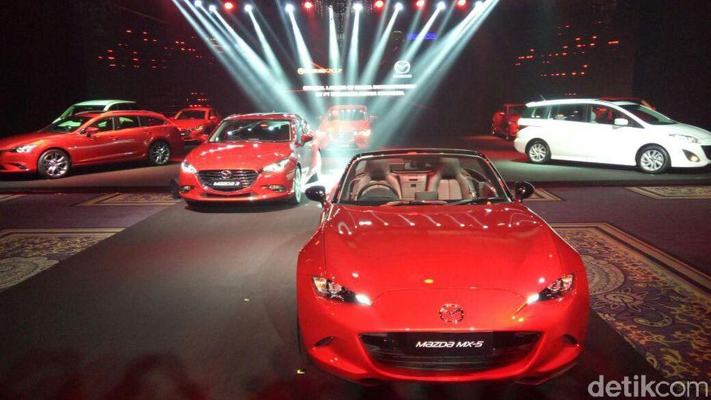 Eurokars Kenalkan 5 Mobil Baru Mazda