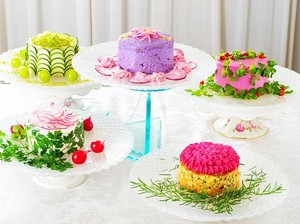 Tak Usah Takut Menyantapnya, Kue Cantik Ini Terbuat dari 100% Sayuran