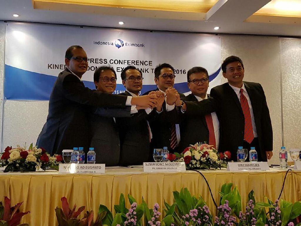 Laba Bersih Indonesia Eximbank Turun Tipis 1,2%