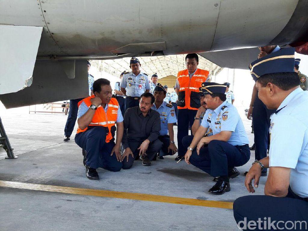 Tinjau Lokasi Insiden F-16, KSAU Siap Penuhi Kebutuhan Penerbang