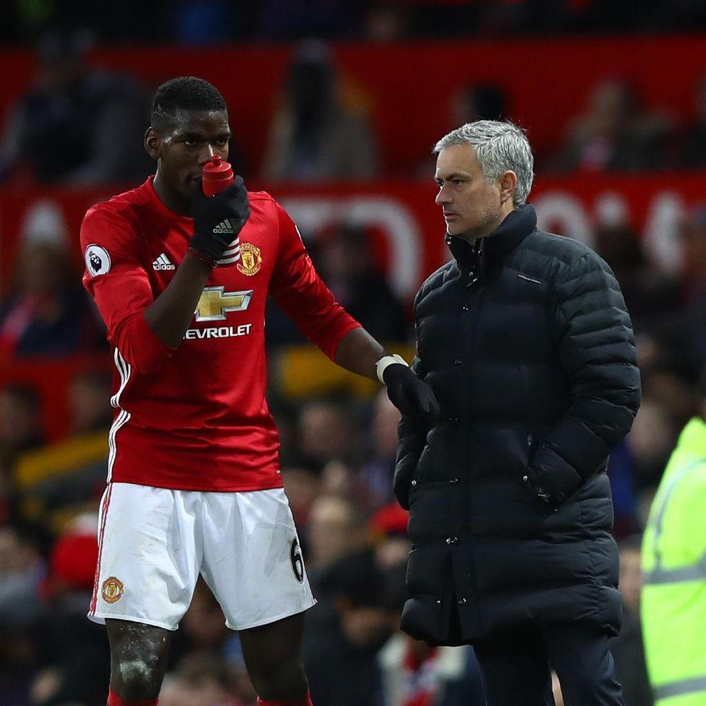 Mourinho Klaim Tak Ada Masalah dengan Pogba, Redknapp: Omong Kosong