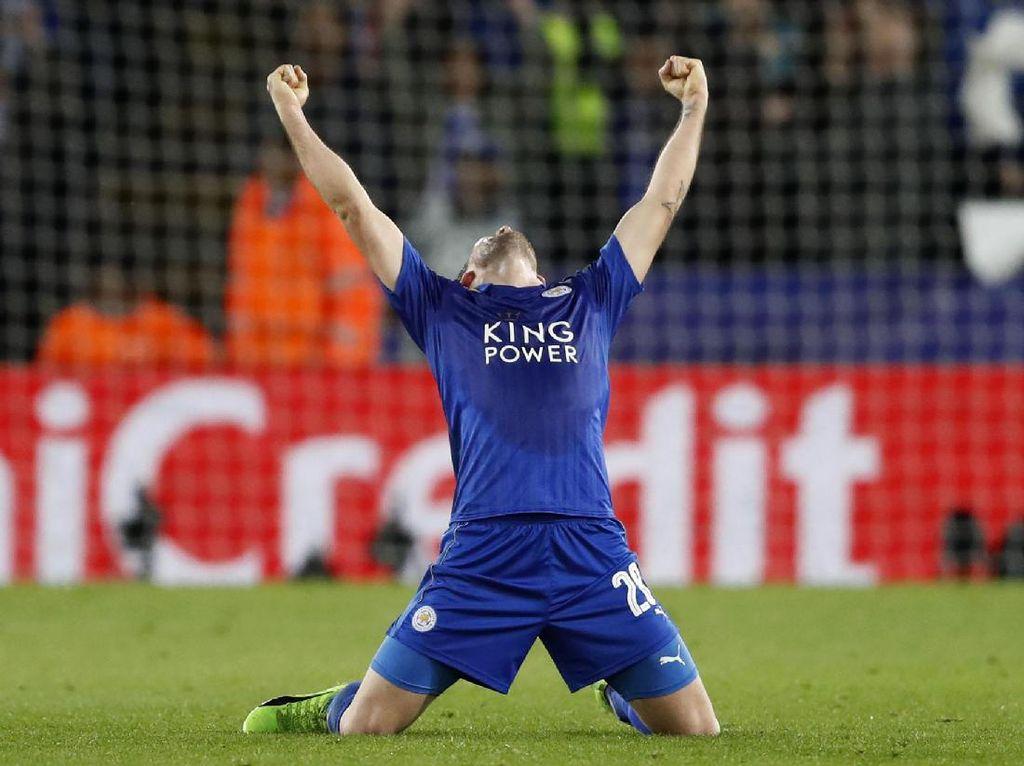 Leicester Melangkah ke Perempatfinal Liga Champions