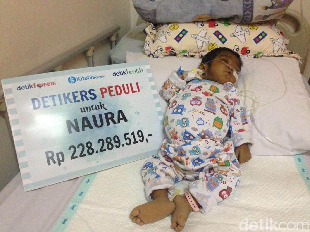 Donasi Detikers Bantu Bayi Naura Jalani Transplantasi Hati