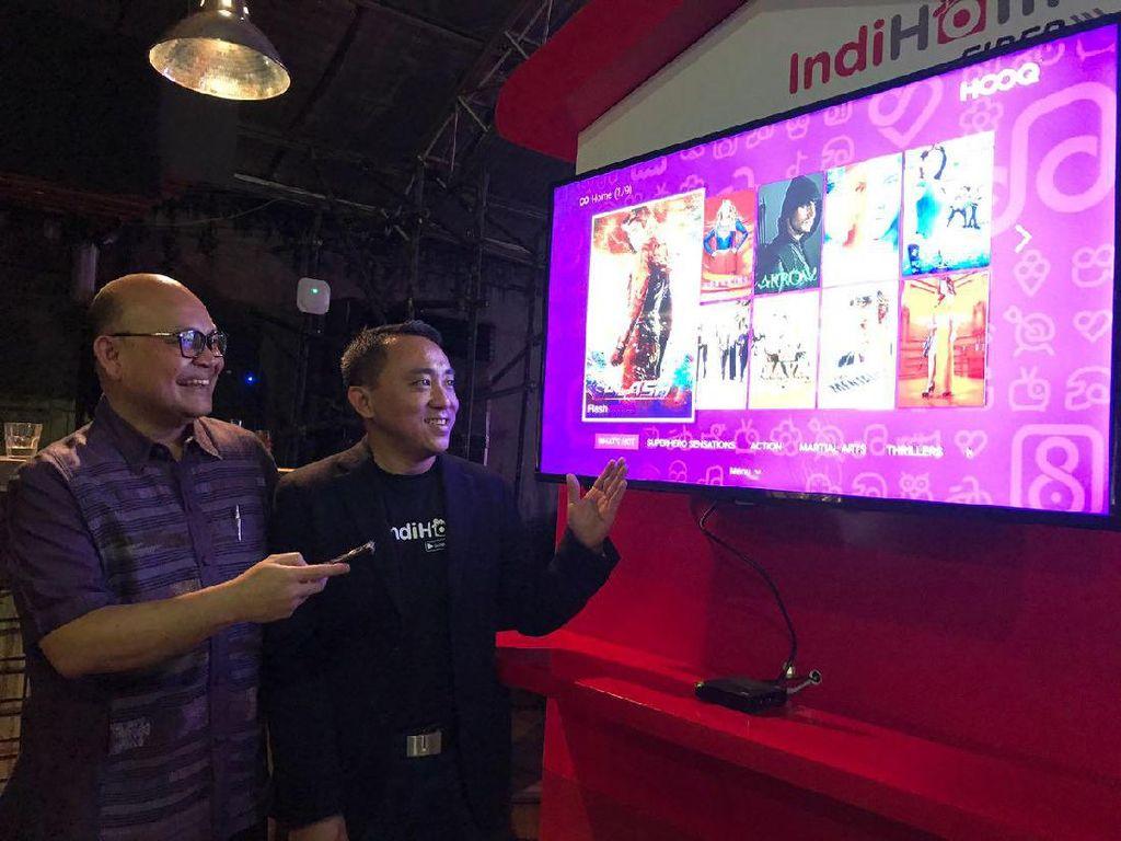 Perbanyak Konten untuk Pelanggan, IndiHome Gandeng Hooq