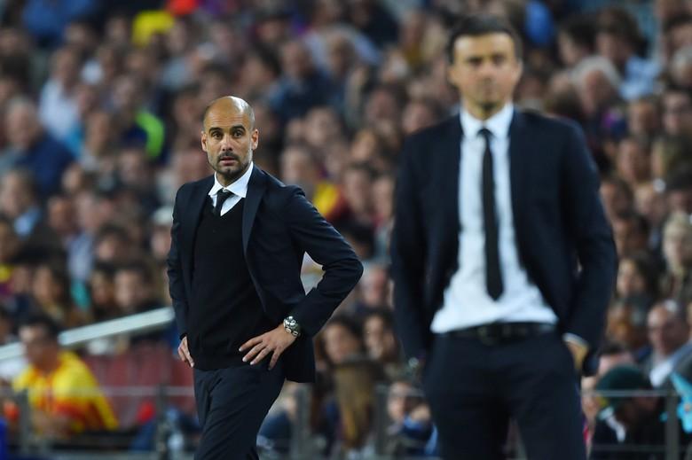 Barca Cari Pengganti Enrique, Guardiola Tegaskan Enggan Balik