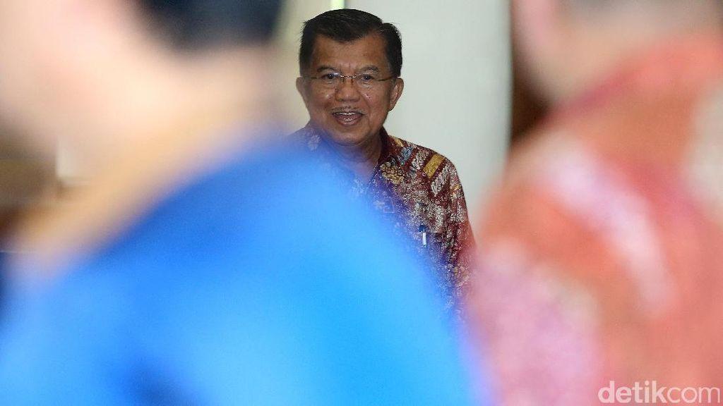 JK Pimpin Rapat Persiapan Asian Games 2018