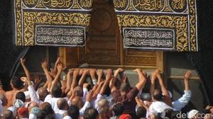 Foto-foto Perjuangan Meraih Kabah di Masjidil Haram