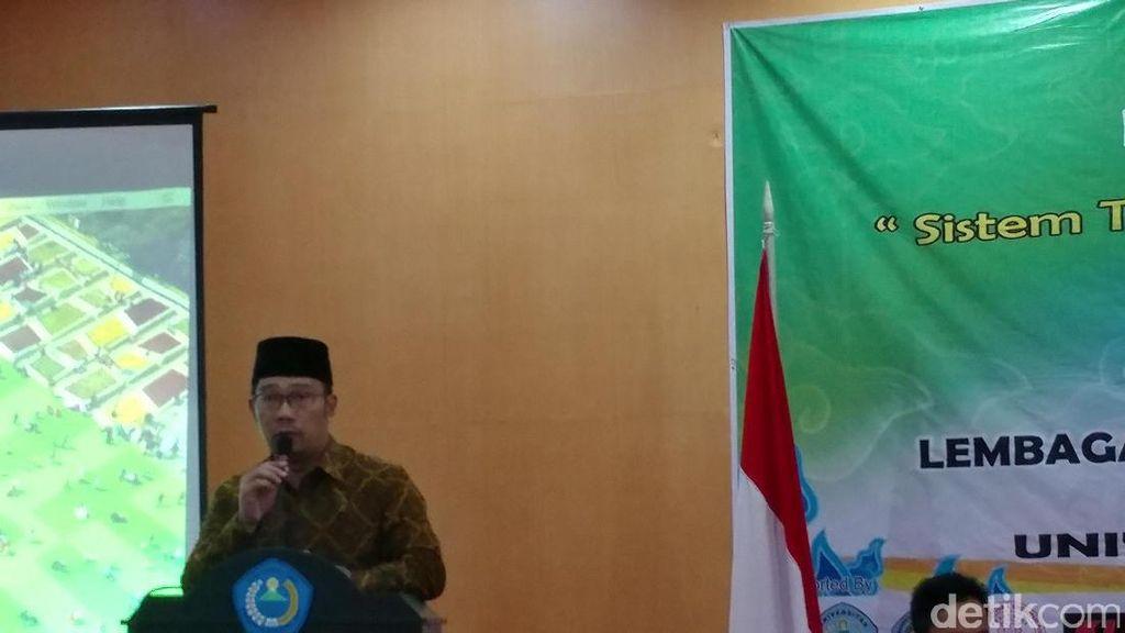 Kata Ridwan Kamil Soal Desakan Warga Agar Terus Jadi Wali Kota