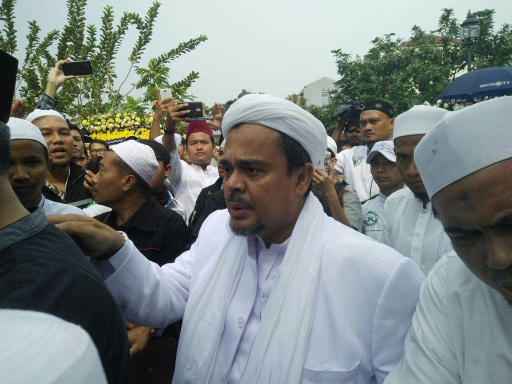 Lembaga Dakwah FPI Solid Tunduk Komando Habib Rizieq soal Pilpres