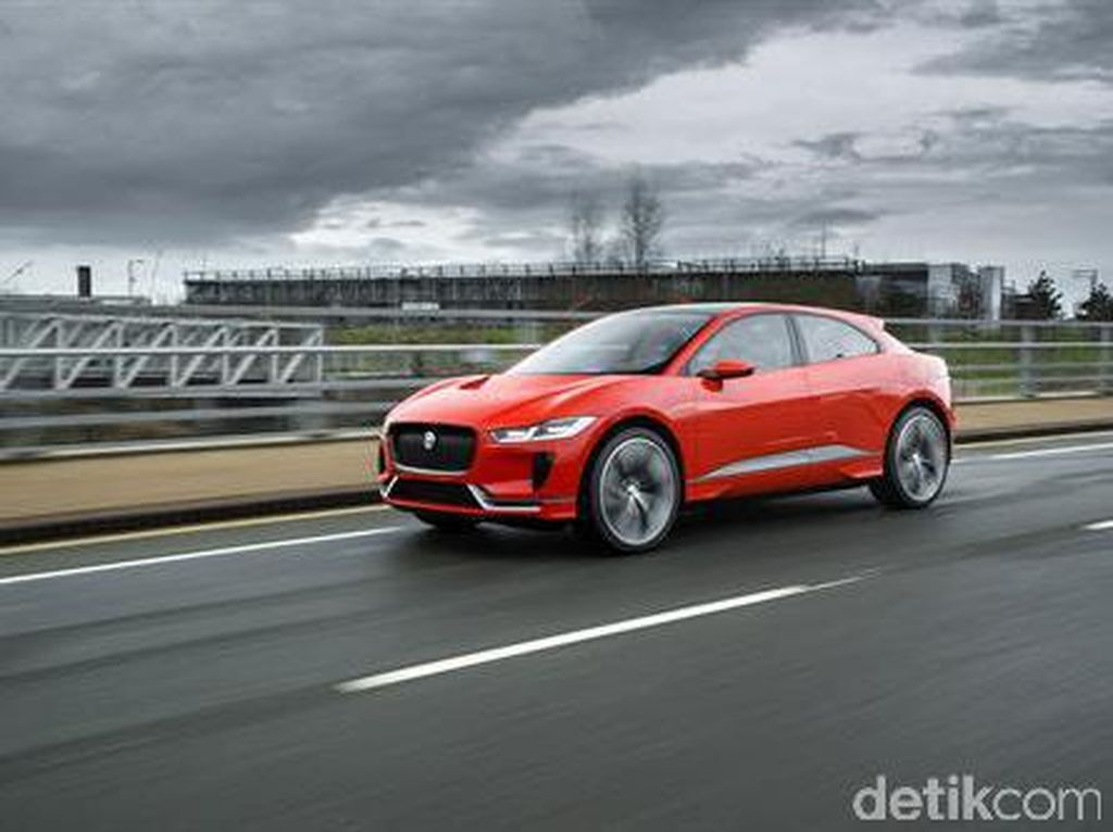Mobil Listrik Jaguar akan Dibawa ke RI, tapi Cuma Dikenalkan