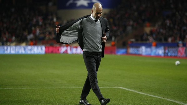 Ironi Pep Guardiola
