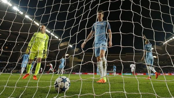 Rapuhnya Pertahanan City di Partai Tandang Liga Champions