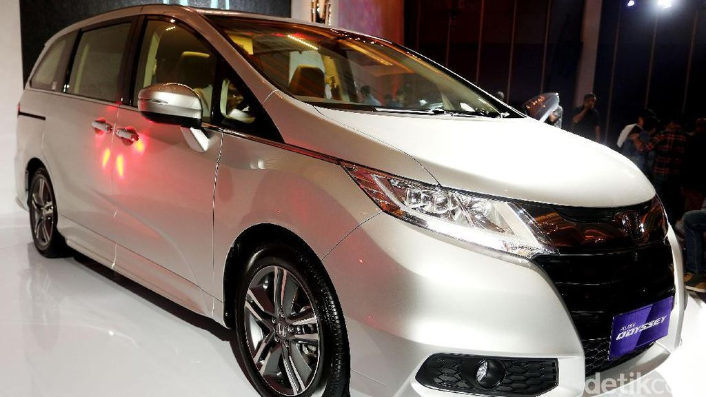 Tak Begitu Besar, Honda Anggap Ukuran Odyssey Pas di Jakarta