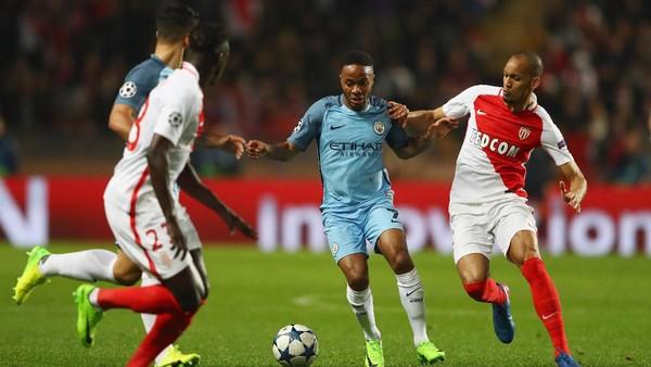 Monaco Sementara Ungguli City 2-0