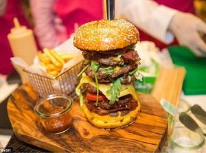 Ini Burger yang Dilelang Seharga 133 Juta di Dubai