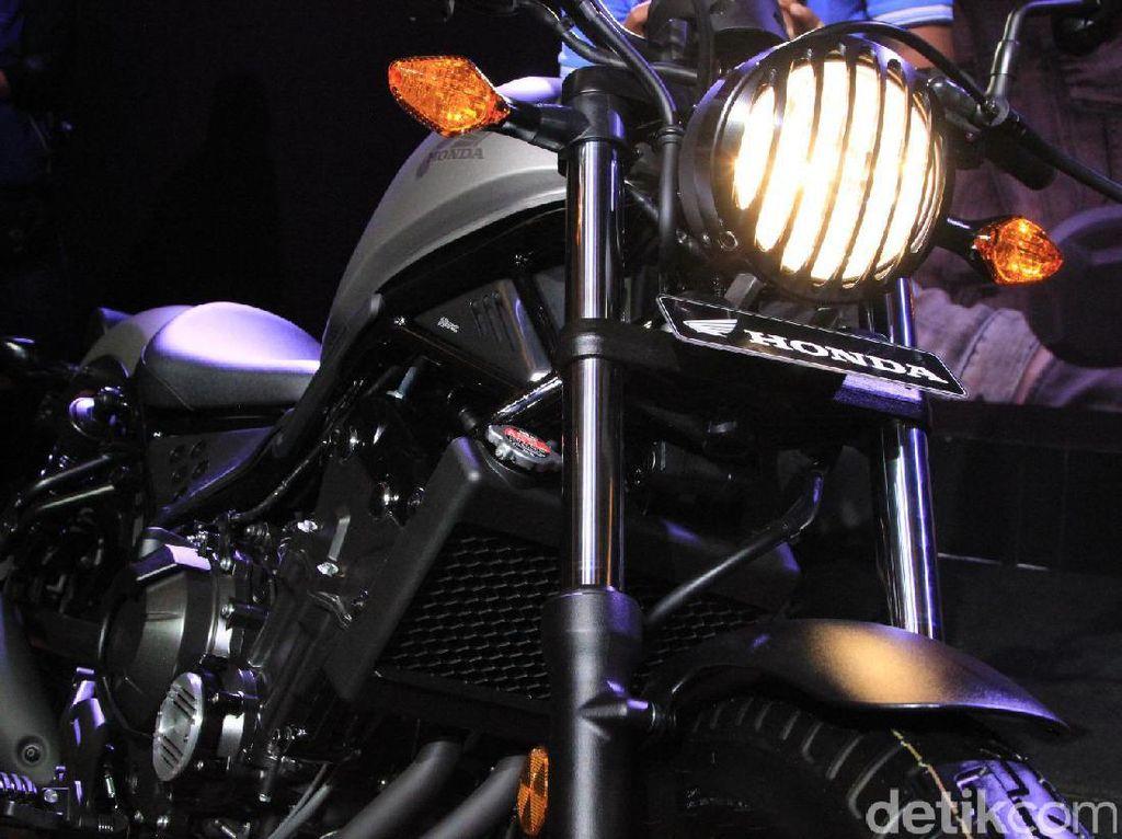 Market Kecil Honda Tetap Kenalkan Moge Rebel di Jateng