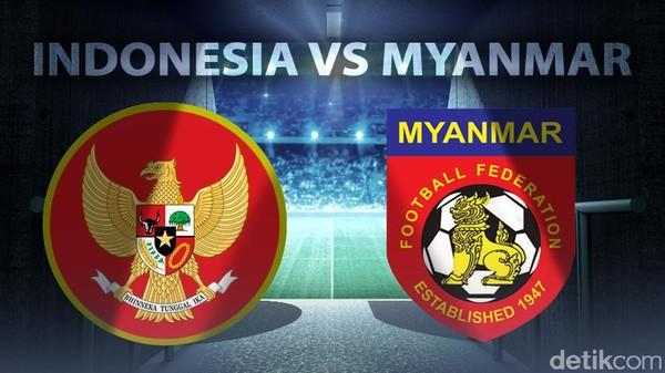 Turun Minum, Indonesia Berimbang 1-1 Lawan Myanmar