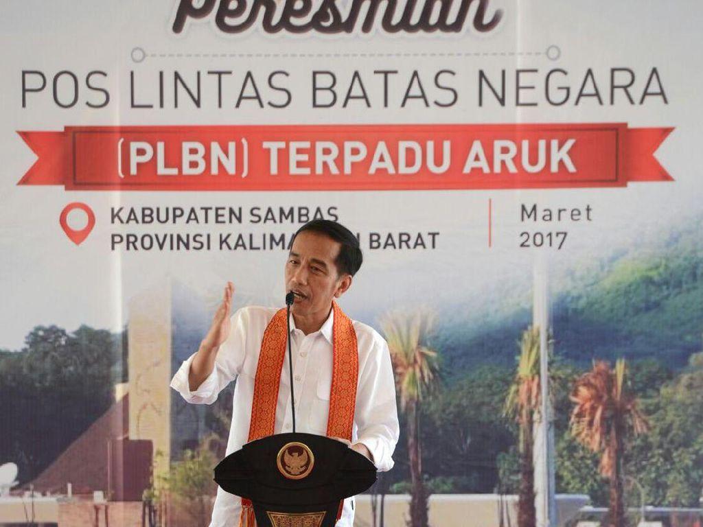 Cerita Jokowi Pernah Malu dan Marah Besar Saat Lihat Pos Perbatasan