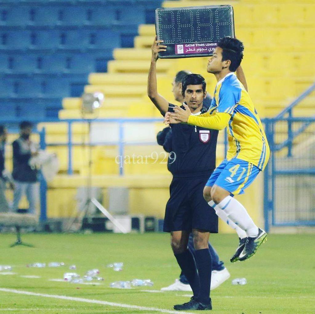 Andri Syahputra Perkuat Timnas Qatar U-19, Ini Komentar Kemenpora