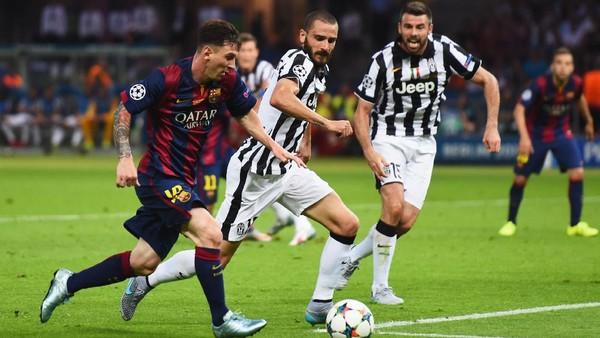 Bertemu Barcelona, Juventus Dinilai Tak Beruntung