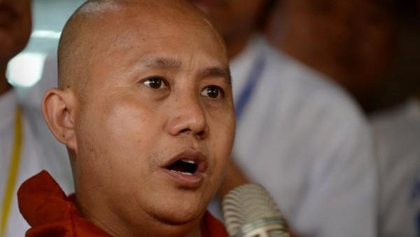 Biksu Kontroversial Myanmar Dilarang Ceramah Selama Setahun