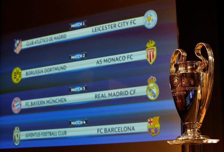 Bayern dan Madrid Baku Hantam di Perempatfinal Liga Champions