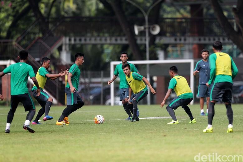 Timnas U-22 Jalani Latihan Jelang Laga Lawan Myanmar