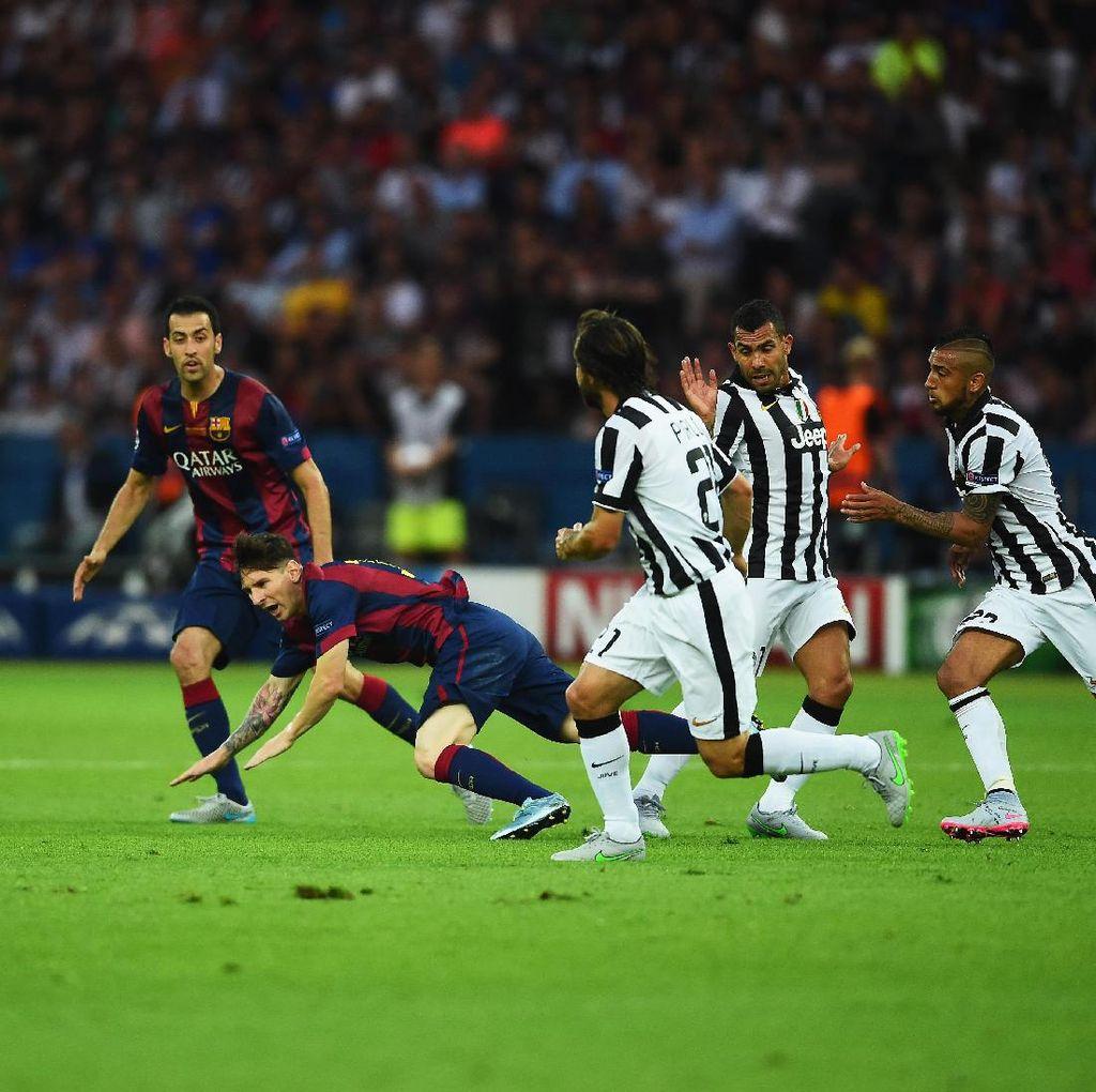 Kalah di DuelTerakhir, Juventus Masih Lebih Dominan dari Barcelona