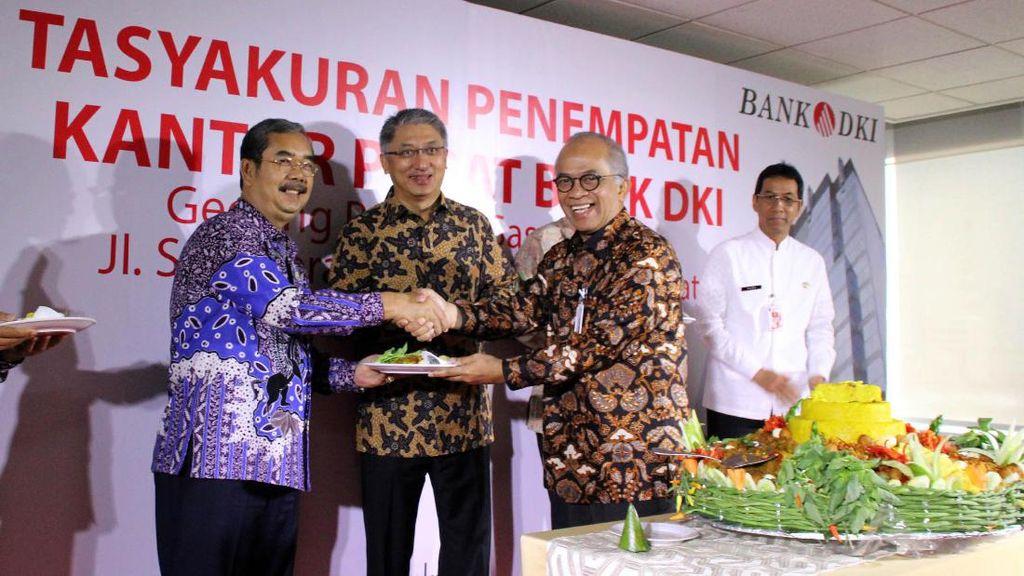Bank DKI Tempati Kantor Baru