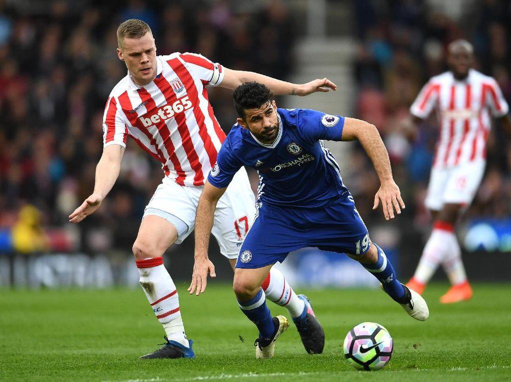Stoke Vs Chelsea Sementara 1-1