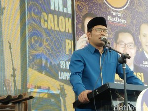 Deddy Mizwar-Ahmad Syaikhu, Ridwan Kamil: Mudah-mudahan Lancar