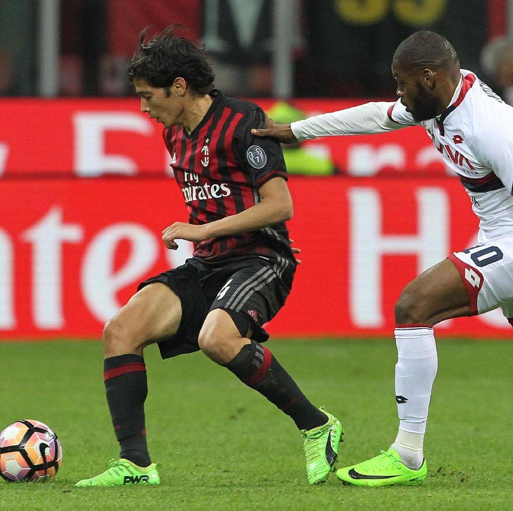 Milan Kalahkan Genoa 1-0