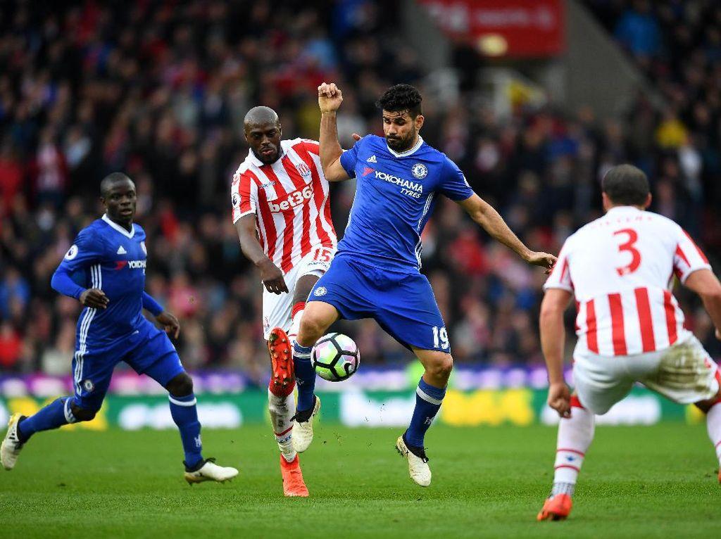 Chelsea Kalahkan Stoke 2-1
