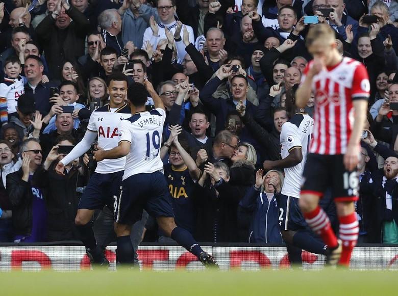 Spurs Menang Tipis 2-1 atas Southampton