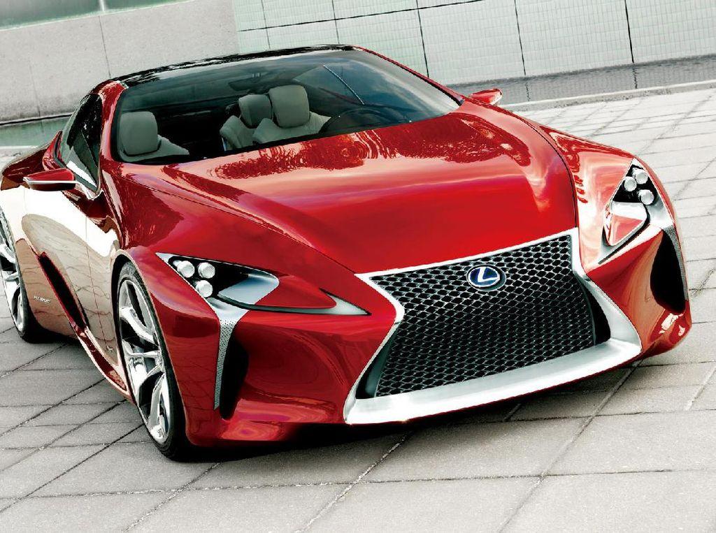 Lexus LC Terbaru Sapa Jepang