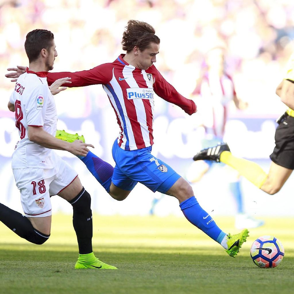 Atletico Kalahkan Sevilla 3-1