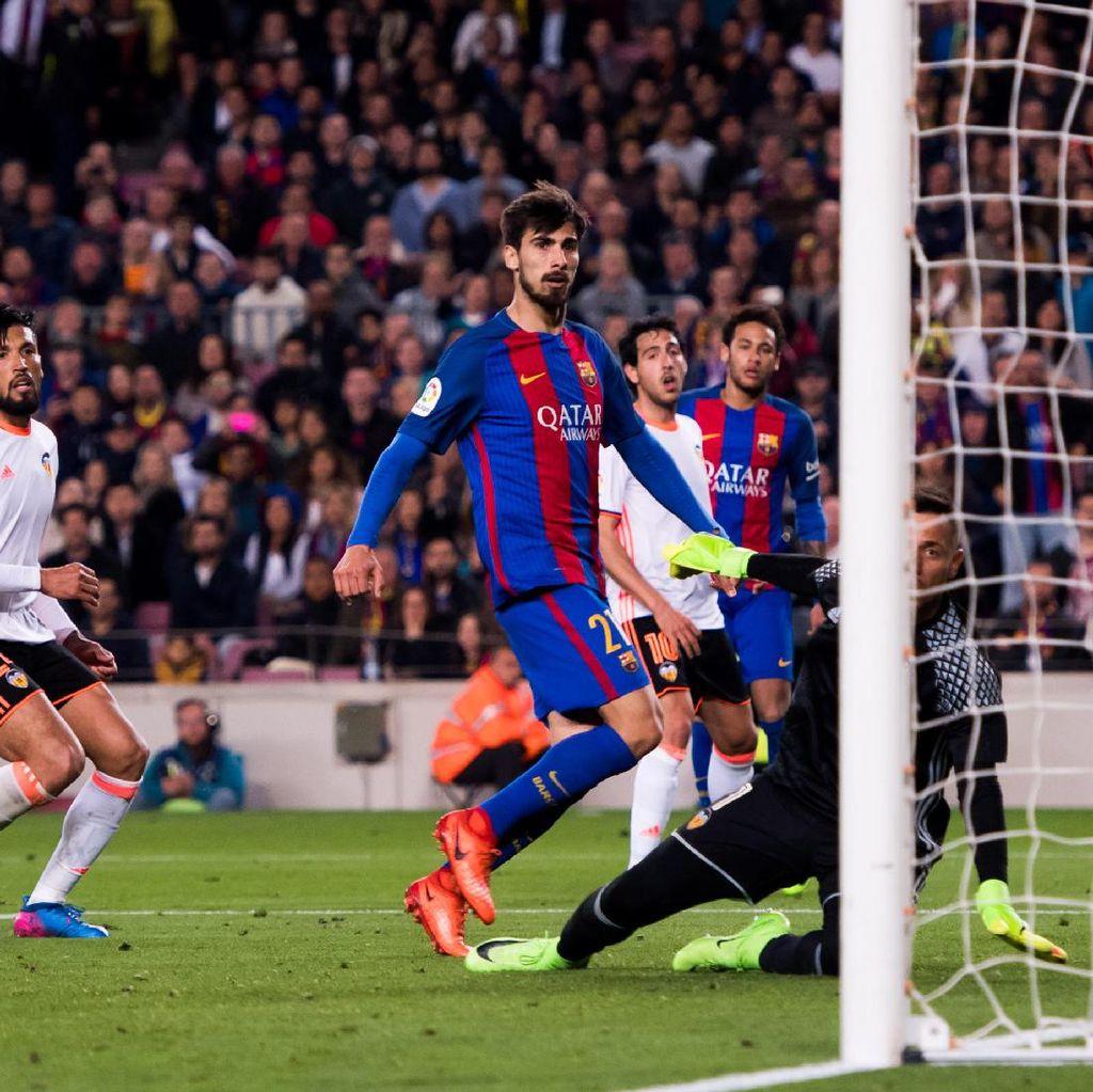 Enrique: Andre Gomes Akan Jadi Pemain Penting untuk Barca