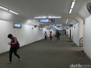 Melihat Underpass Stasiun Manggarai yang Ramai Jadi Perbincangan