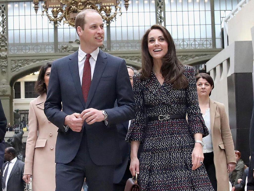Pangeran William Jaga Jarak dari Kate Middleton di Pernikahan Pippa?