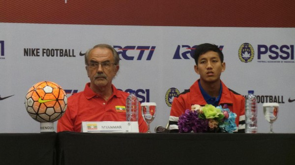 Hadapi Indonesia, Myanmar Akan Turunkan Skuat Kombinasi Muda dan Senior
