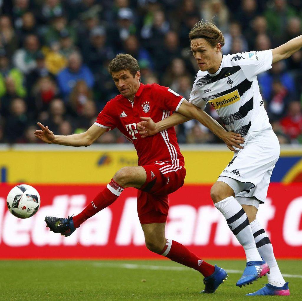 Tundukkan Gladbach, Bayern Makin Kokoh di Puncak Klasemen
