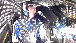 Mark Zuckerberg Tegang Duduk di Mobil Nascar