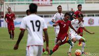 Gian Zola Akui Permainan Myanmar Lebih Baik