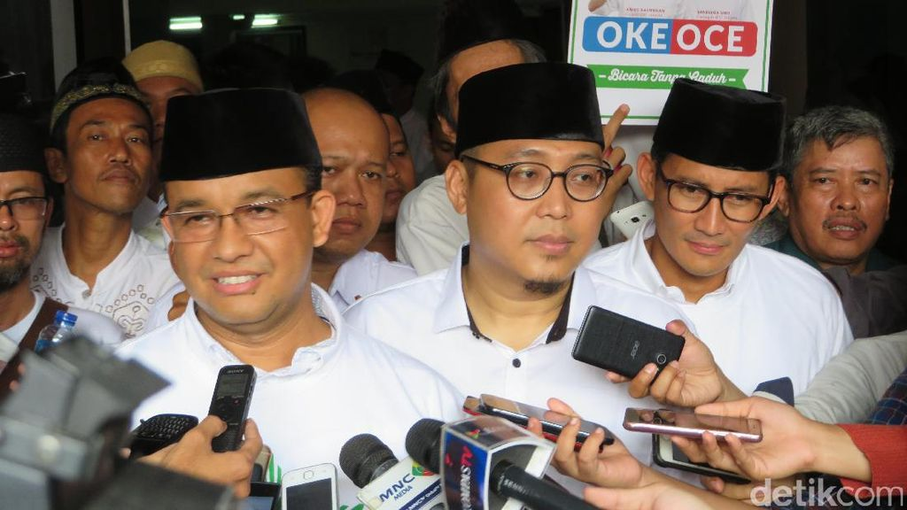 Didukung Relawan MU Jakarta, Anies: Ini Amanah