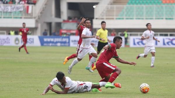 Indonesia Kalah 1-3 dari Myanmar di Laga Debut Milla