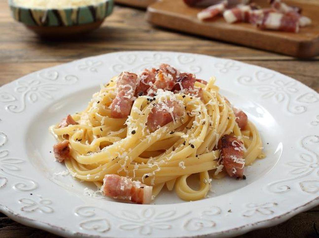 Nyamm! Spaghetti Carbonara Bisa Dinikmati di 5 Tempat Ini