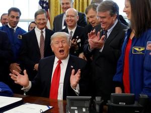 Wahai Trump: Ngotot Bangun Tembok Meksiko, Pemerintahan AS Bisa Tutup