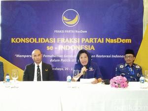Konsolidasi Nasional Fraksi NasDem Hasilkan 3 Rekomendasi
