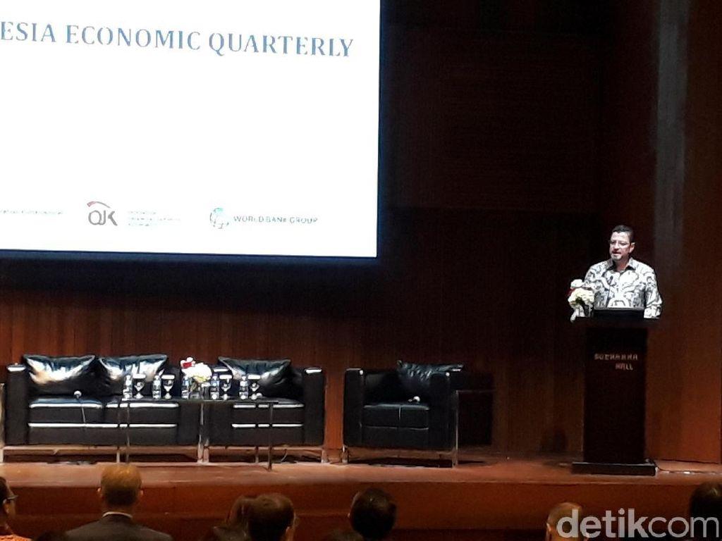 Bank Dunia Beberkan Penyebab Ekonomi RI Melambat di Awal 2018