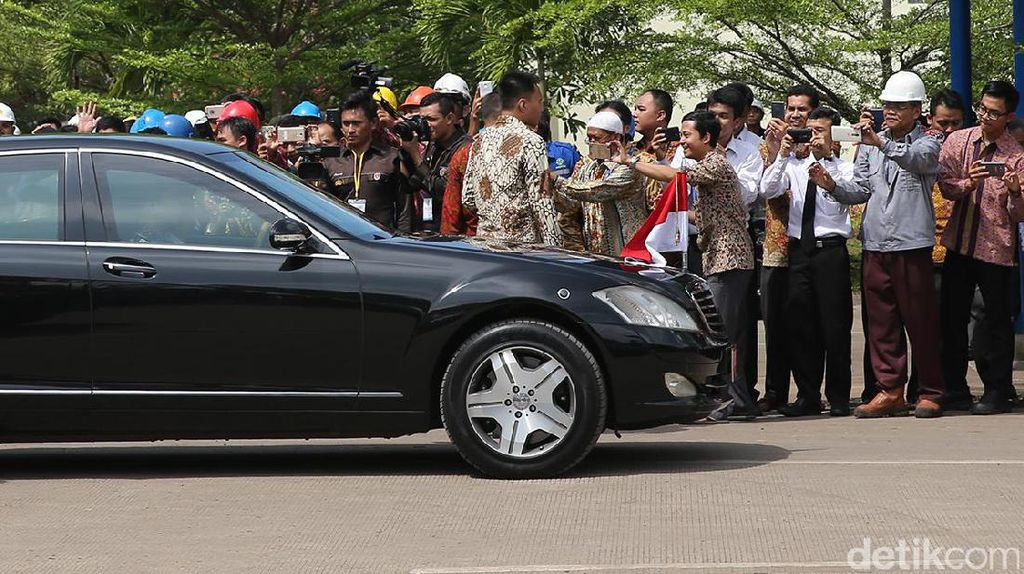 Mercedes-Benz S600 Masih Kuat Antar Jokowi Sejak Zaman SBY